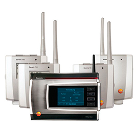Sistema de Monitoreo Testo Saveris