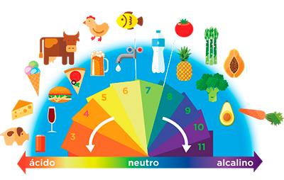 La medición del PH en las ramas de la Industria Alimentaria escala