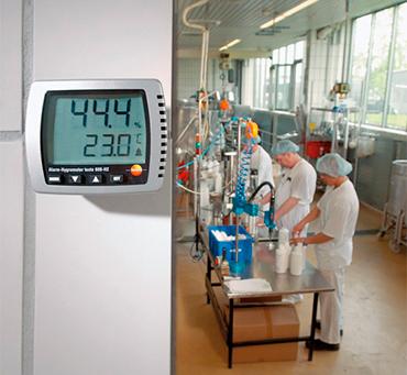 termohigrometro testo